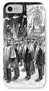 Veteran March, 1876 IPhone Case by Granger