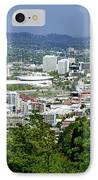 View Of Portland Oregon From Pittock Mansion  IPhone Case by Sherry  Curry