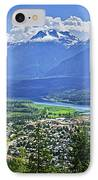 View Of Revelstoke In British Columbia IPhone Case