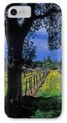 Vineyard View IPhone Case by Kathy Yates