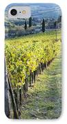 Vineyards And Farmhouse IPhone Case