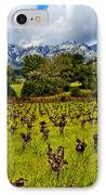 Vineyards And Mt St. Helena IPhone Case by Garry Gay