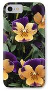 Violets IPhone Case by Archie Young