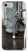 Waitress In Boots IPhone Case