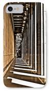 Walhalla Colonnade ... IPhone Case by Juergen Weiss