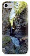Watkins Glen Spring One IPhone Case by Joshua House