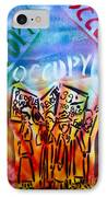 We Occupy IPhone Case by Tony B Conscious