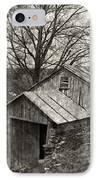 Weathered Hillside Barn IPhone Case