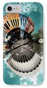 Wee Downtown Bryan IPhone Case by Nikki Marie Smith