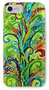 Whirlygig Tree IPhone Case by Genevieve Esson