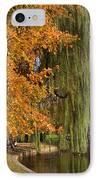 Willow In The Garden IPhone Case by Joann Vitali