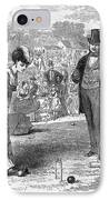 Wimbledon: Croquet, 1870 IPhone Case