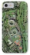 Wimbledon Tennis Complex, Uk IPhone Case by Getmapping Plc