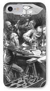 Wine Tasting, 1876 IPhone Case by Granger