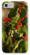 Winter Bird Treet IPhone Case