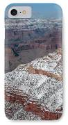 Winter's Touch At The Grand Canyon IPhone Case