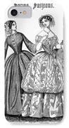 Womens Fashion, 1853 IPhone Case