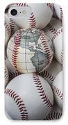 World Baseball IPhone Case by Garry Gay