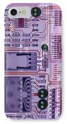 X-ray Of Sound Card IPhone Case