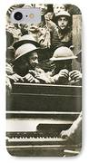 Yankee Soldiers Around A Piano IPhone Case by Photo Researchers