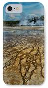 Yellowstone Blood Vessels IPhone Case by Dan Mihai