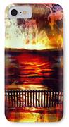 Yellowstone Hell (billirubin Remix) IPhone Case by Artemis Sere