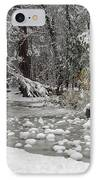 Yosemite Winter IPhone Case by Heidi Smith