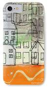 Houses By The River IPhone Case by Linda Woods