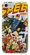 World War II: Comic Book IPhone Case