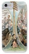 Business Cartoon, 1904 IPhone Case by Granger