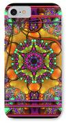 001 - Mandala IPhone Case by Mimulux patricia no No