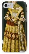 Katharina Von Mecklenburg IPhone Case by Granger