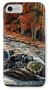 Autumn Cascade IPhone Case