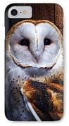 Barn Owl  IPhone Case by Anthony Jones
