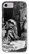 DorÉ: The Raven, 1882 IPhone Case by Granger