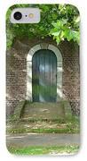 Dutch Door Digital IPhone Case by Carol Groenen