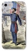 Freedmens Bureau, 1868 IPhone Case