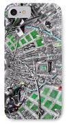 Inside Orbital City IPhone Case