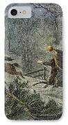 Irving: Sleepy Hollow IPhone Case by Granger