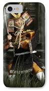 Japanese Samurai Doll IPhone Case by Christine Till