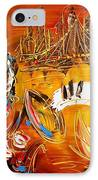 Jazz City IPhone Case by Mark Kazav