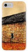 Lime Stone Barn IPhone Case by Julie Hamilton