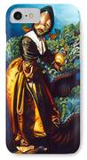Love Thine Anemone IPhone Case by Patrick Anthony Pierson