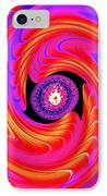 Luminous Energy 8 IPhone Case by Will Borden
