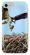 Open Wings IPhone Case by Karen Wiles