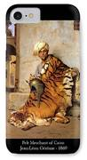 Pelt Merchant Of Cairo - 1869 IPhone Case by Jean-Leon Gerome
