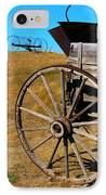 Rustic Wagon IPhone Case by Perry Webster