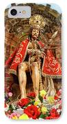 Senhor Bom Jesus Da Pedra IPhone Case by Gaspar Avila