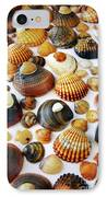 Shell Background IPhone Case