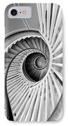 Spiral Staircase Lowndes Grove IPhone Case